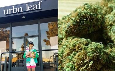 Malá skautka predáva tisíce sušienok pred predajňou marihuany. Zákazníci dobre vedia, čo ich čaká, a tak dievčatku robia parádny biznis