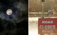 Malá změna v oběžné dráze Měsíce může způsobit rekordní záplavy, tvrdí studie