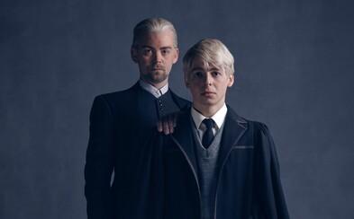 Malfoy vyrástol v muža. V pokračovaní príbehu Harryho Pottera bude mať aj syna a takto vyzerajú