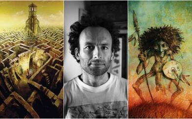 Malíř a spisovatel Pavel Čech tě vtáhne do snového světa plného záhad, tajemství a nekonečné fantazie (Rozhovor)