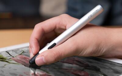 Malířský stylus pro ty nejnáročnější. Použijte tablet jako plátno