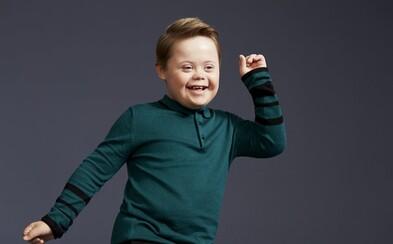 Malý Joseph s Downovým syndrómom sa stal najnovším modelom známej značky. Diagnóze nedovoľuje, aby definovala jeho život