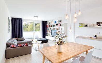 Malý kúsok Škandinávie v našom hlavnom meste ukrytý v dvojizbovom byte na Kramároch