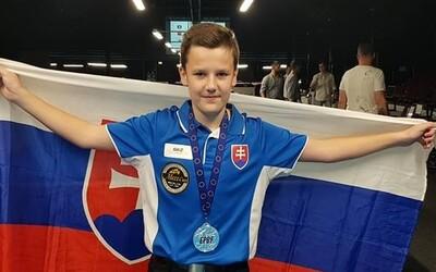 Malý Slovák sa stal tretím najlepším hráčom biliardu na svete. Iba 13-ročný Kristián vybojoval bronz