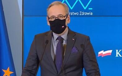 Máme v zemi českou mutaci koronaviru, řekl polský ministr zdravotnictví