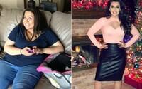 Maminka zhubla skoro 50 kg poté, co zjistila, že ji manžel podvádí a s jeho milenkou ji nazývají tlustou krávou