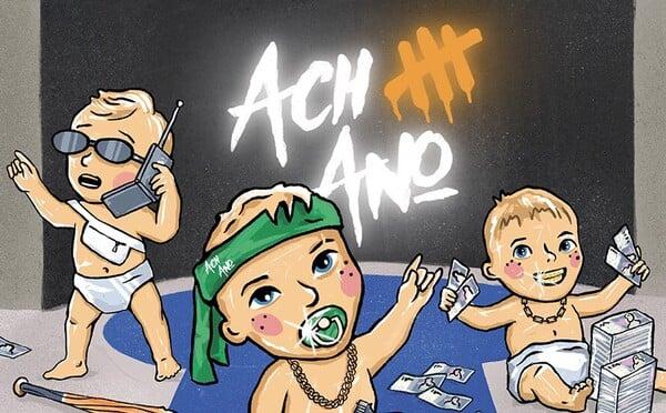 Maniak ukazuje nový cover a tracklist alba Ach Ano III: Ballerbyn. Bude na něm mít Protivu, PSH nebo Separa