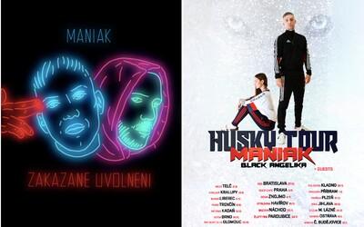 Maniak zveřejňuje banger s Pil Cm a ohlašuje turné s 20 zastávkami