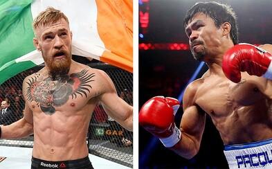 Manny Pacquiao by rád bojoval proti McGregorovi, ak by Floyd Mayweather napokon nechcel vyzvať írskeho zápasníka