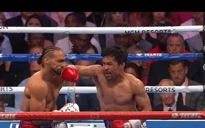 Manny Pacquiao rychlými a tvrdými ranami nedal Thurmanovi šanci. Dokázal, že je šampionem v nejlepší formě