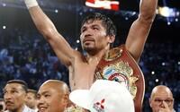 Manny Pacquiao vytrieskal svojho súpera a znovu vyzval Mayweathera. Ak sa Američan nebojí, má sa vrátiť do ringu