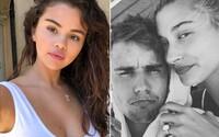 """Manželka Justina Biebera přidala vzkaz """"Zabiju tě"""". Fanoušci si myslí, že je věnován Seleně Gomez"""