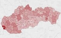 MAPA: Koronavírus zasiahol okrem Bratislavy aj východ. V Bardejove zatvárajú všetky školy