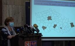 MAPA: Ministerstvo uveřejnilo první semafor. Kde by měli být Češi obezřetnější?