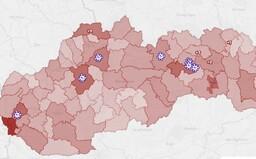 MAPA: Odtiaľto pochádzajú noví nakazení koronavírusom. Väčšina je z východného Slovenska