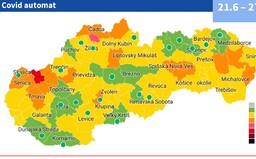 MAPA: Pandémia ustupuje, zelených okresov s voľnými opatreniami je až 17. Je medzi nimi aj tvoj?