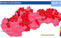 MAPA: Slovensko prešlo do ružovej fázy. Takéto opatrenia platia po novom pre šport či kultúru
