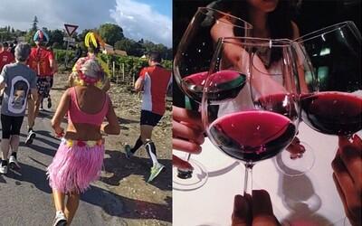 Maraton, kde se občerstvíš vínem a ústřicemi: francouzské závody dokáží přilákat i nepřátele sportu
