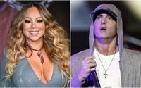 Mariah Carey si připomíná dlouholetý konflikt s Eminemem. Převlékla se za rapera a ptá se, proč je jí posedlý