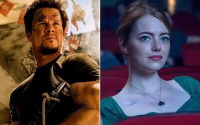 Mark Wahlberg díky Transformers vydělal více než miliardoví Vin Diesel a Dwayne Johnson. Z žen si nejvíce přilepšila Emma Stone