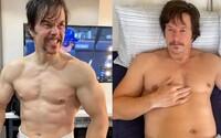 Mark Wahlberg pribral za 3 týždne 9 kilogramov a prišiel o vlasy. Takto sa zmenil kvôli novému filmu