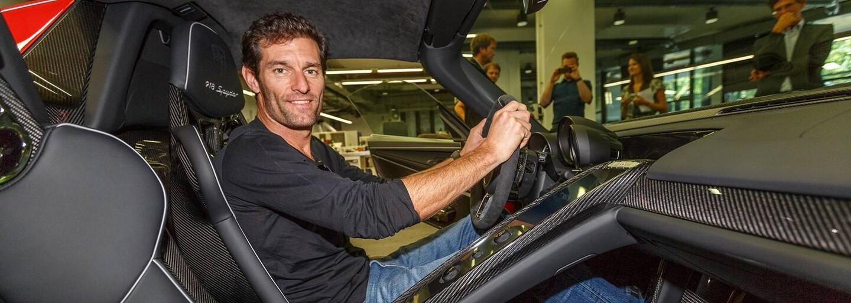 Mark Webber si prevzal svoju novú 918-ku v netradičnej farbe odkazujúcej na jeho špeciál z Le Mans