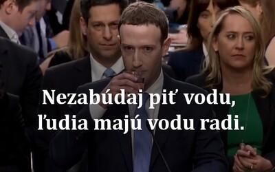 Mark Zuckerberg baví internet. Jeho robotický vzhled i projev v Kongresu dal vzniknout řadě vtipů