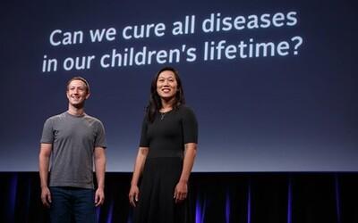 Mark Zuckerberg chce vyliečiť všetky známe choroby a do svojho plánu investuje 3 miliardy dolárov