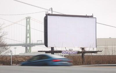 Marketingová agentura nechala po celém městě prázdné billboardy, aby si lidé odpočinuli od otravné reklamy
