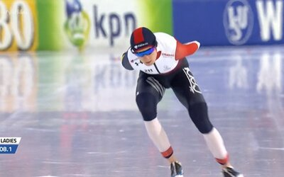 Martina Sáblíková slaví další triumf. Potřinácté se stala celkovou vítězkou Světového poháru