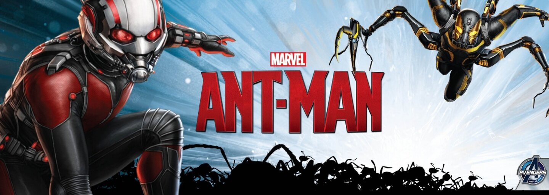 Marvel ponúka prvé zábery na Ant-Mana, muža, ktorý lieta na mravcoch a ľubovoľne mení svoju veľkosť