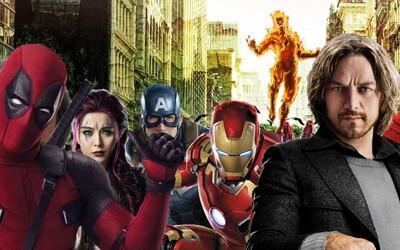 Marvel už pracuje na spojení X-Men a Fantastické čtyřky se světem MCU
