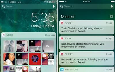 Máš už nainštalovaný iOS 10? Tak potom neprehliadni 8 skrytých noviniek