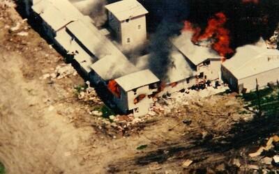 Masaker v Texase: Pokojnú usadlosť sekty Davidiánov narušilo 900 agentov FBI, ATF a národnej gardy