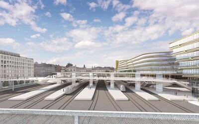 Masarykovo nádraží v Praze čeká velká rekonstrukce. Vznikne nadchod, kterým se za pár minut lehce přesuneš na Hlavní nádraží