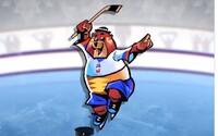 Maskotom slovenských MS v hokeji sa stal folklórny medveď, ktorého meno zatiaľ nepoznáme