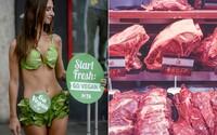 Maso ani sýry tu nechceme. Militantní vegani útočí ve Francii na řeznictví, sýrárny i McDonald's