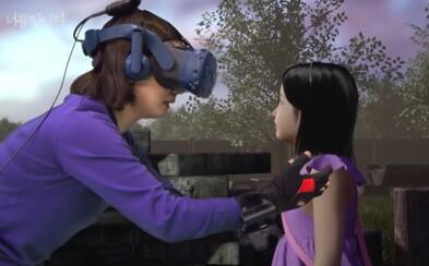 Matka se setkala s dcerou, která zemřela na leukémii, ve virtuální realitě