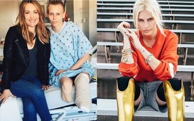 Matka se před amputací připravovala na její pohřeb, Lauren se ale nakonec dostala do Vogue