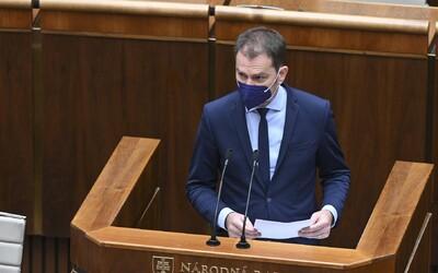 """Matovič bude v parlamente čeliť odvolávaniu. """"Je najväčšie zlo slovenskej politiky,"""" tvrdí Pellegrini"""
