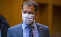 Matovič považuje Sulíkov kompromisný návrh za tliachaniny. Vláda podľa premiéra nerozhoduje o zatváraní reštaurácií