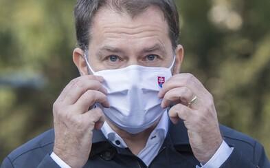 Matovič sa potľapkal po pleci za plošné testovanie, počet infekčných sa vraj znížil o 55%. Zabudol na lockdown?