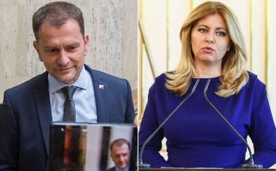 Matovič sa pustil do Zuzany Čaputovej: Úrad prezidentky nám zobral najefektívnejší nástroj na boj s koronavírusom