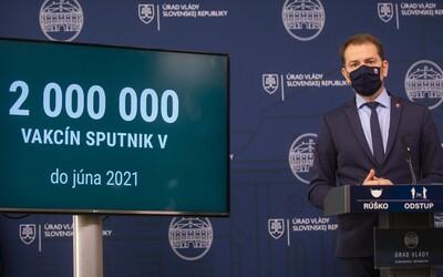 Matovič tvrdil, že Sputnik V chce aspoň 300-tisíc Slovákov. Za prvý večer sa do čakárne prihlásilo len 3 500 záujemcov