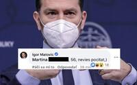 """Matovič útočí na šéfredaktora Aktualít. Slovenke sa vysmial, že nevie počítať, Baťovú na tlačovke vraj spomenul """"len"""" 56-krát"""