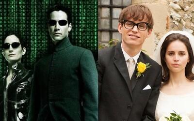 Matrix sa dočká vydania v najvyššej možnej kvalite a Eddie Redmayne sa s Felicity Jones vydá do oblakov balónom