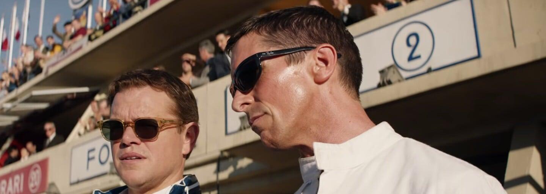 Matt Damon posadí Christiana Balea do auta, ktoré musí poraziť Ferrari. Sleduj vynikajúci trailer pre Ford vs Ferrari
