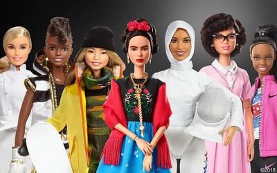 Mattel vyrobil panenky Barbie dle inspirativních žen, které něco dokázaly. Chce ukázat, že se dívky mohou stát kýmkoliv