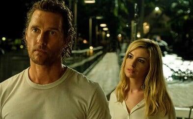 Matthew McConaughey a Anne Hathaway vymenia vesmír za tropický ostrov v noirovom thrilleri Serenity