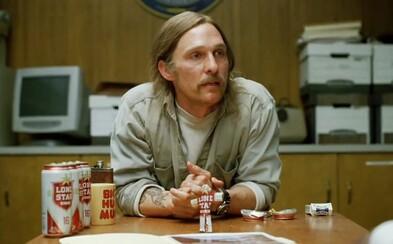 Matthew McConaughey by veľmi rád spravil 3. sériu temného a prehnitého True Detective